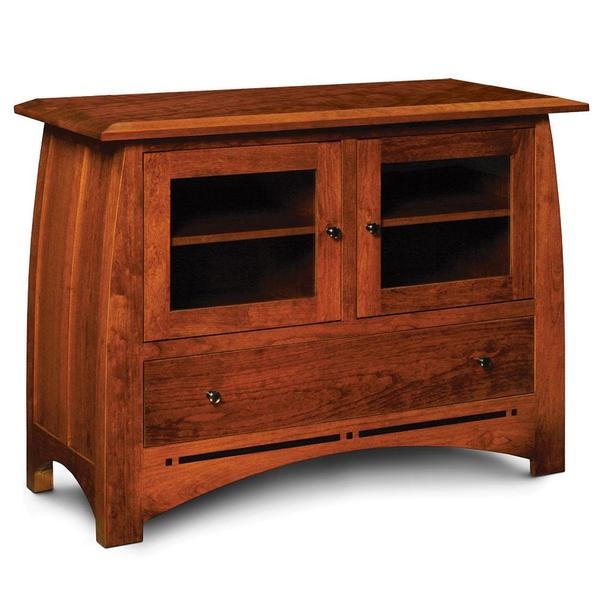 """See Details - Aspen TV Stand with Inlay, 48 """""""