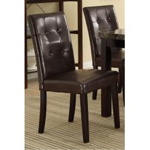 Atticus Dining Chair, Dark-brown