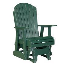 See Details - 2 Adirondack Glider Chair, Green