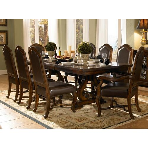 See Details - Rectangular Trestle Table