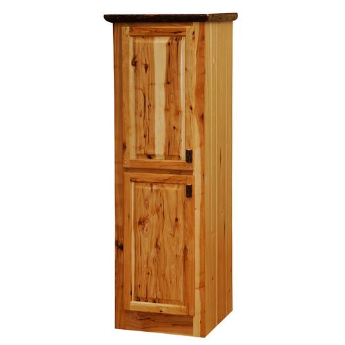Linen Cabinet - 24-inch - Cinnamon - Hinge Right