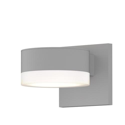 Sonneman - A Way of Light - REALS® Up/Down LED Sconce [Color/Finish=Textured White, Lens Type=Plate Lens and White Cylinder Lends]