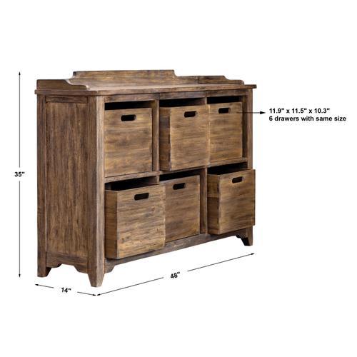Ardusin Hobby Cupboard, Driftwood
