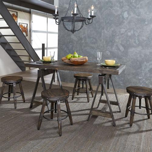 5 Piece Adjustable Table Set