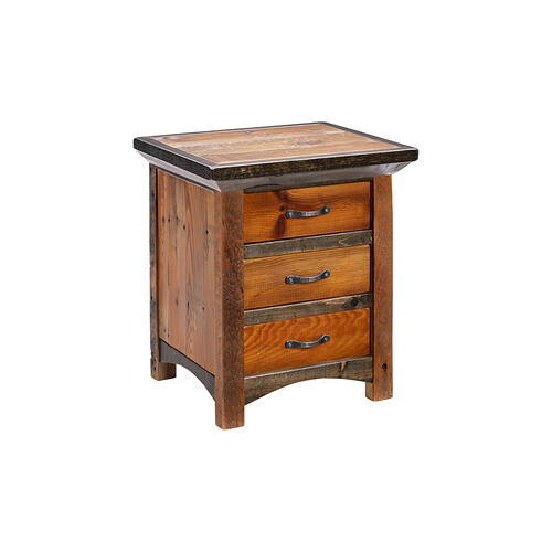 Mossy Oak Natchez Trace 3 Drawer Nightstand