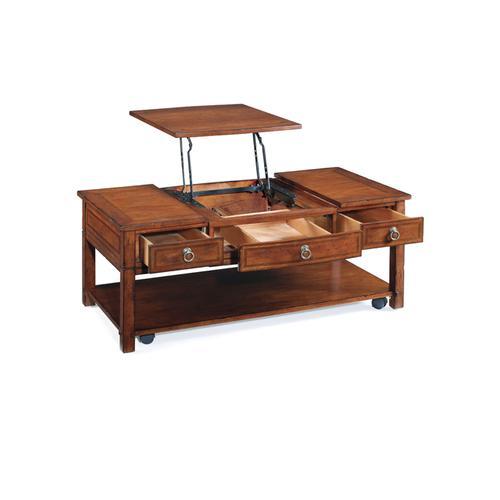 Rectangular Lift Top Cocktail Table