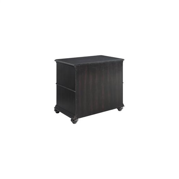 Riverside - Clinton Hill - Lateral File Cabinet - Kohl Black Finish