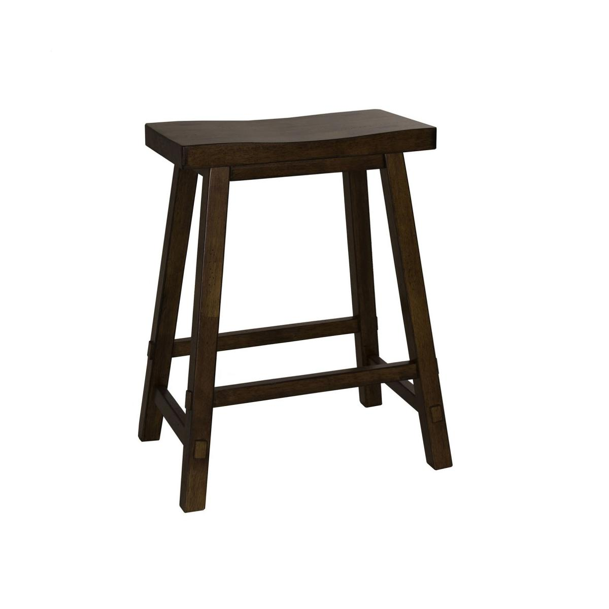 24 Inch Sawhorse Counter Stool - Tobacco (RTA)