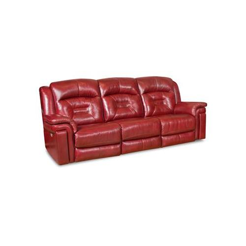 Southern Motion - Double Reclining Console Sofa with Power Headrest