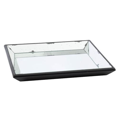 Mirrored Square Tray,Medium