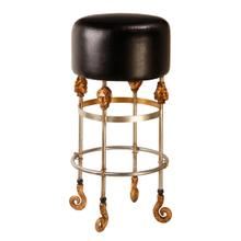 See Details - Armory Tall Black Bar Stool
