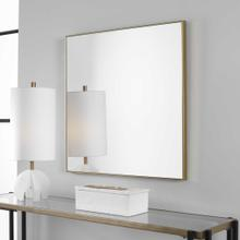 Alexo Gold Square Mirror