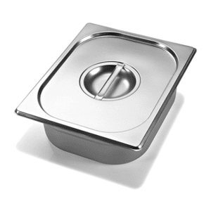 Half-Size Warming Pan with Lid -