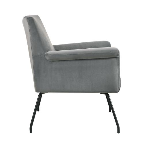 Bukit Mid-Century Modern Accent Chair