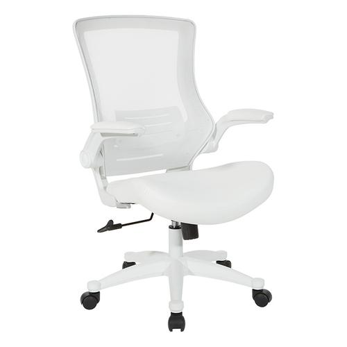 Office Star - White Screen Back Manager's Chair