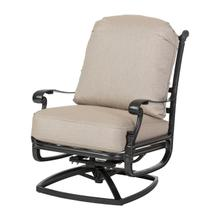 See Details - Florence Cushion High Back Swivel Rocking Lounge Chair