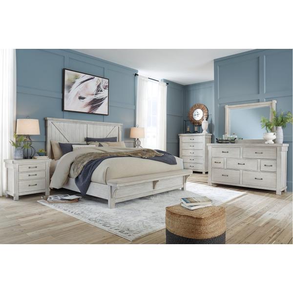 Brashland King Panel Bed