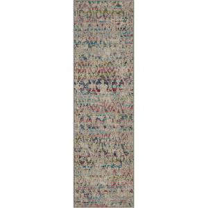 "Meraki Illusion Multi 2' 4""x7' 10"" Runner"