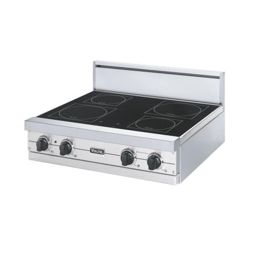 """Viking - Stainless Steel 30"""" All-Induction Rangetop - VIRT (30"""" wide, 4 induction elements)"""