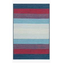 View Product - GA-05 Blue / Red Rug