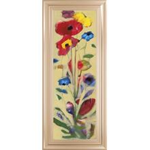 """Wildflower I"" By Jennifer Zybala Framed Print Wall Art"