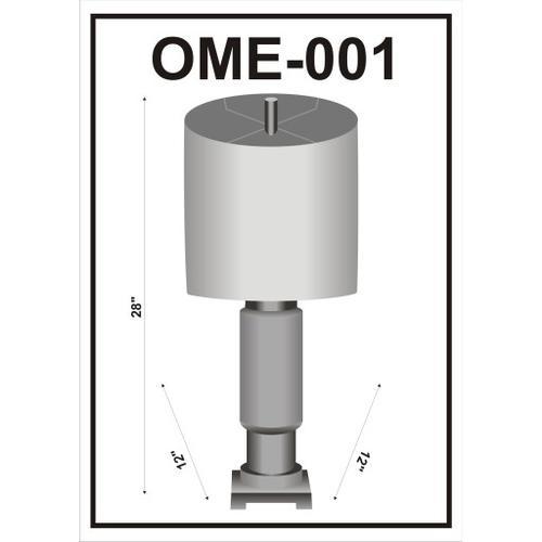 "Omare OME-001 28""H x 12""W x 12""D"