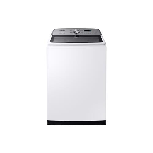 5.4 cu. ft. Top Load Washer with Active WaterJet in White