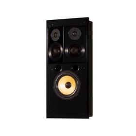 S1.8SIW Three-Way, Single In-Wall Surround Speaker in Black Gloss