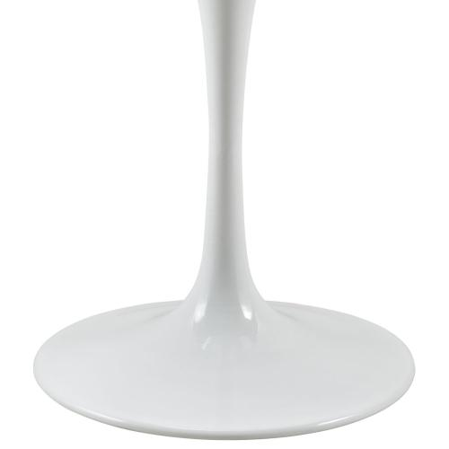 """Lippa 36"""" Round Wood Top Dining Table in White"""