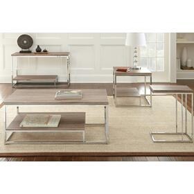 """Lucia End Table 23.5"""" x 23.5"""" x 23.25"""""""
