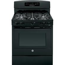 """See Details - GE® 30"""" Free-Standing Gas Convection Range"""