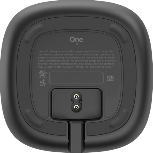 Sonos - Refurbished One SL - Shadow