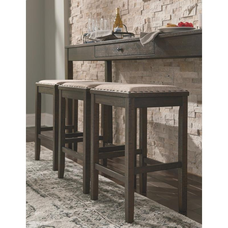 View Product - Rokane - Brown 4 Piece Dining Room Set