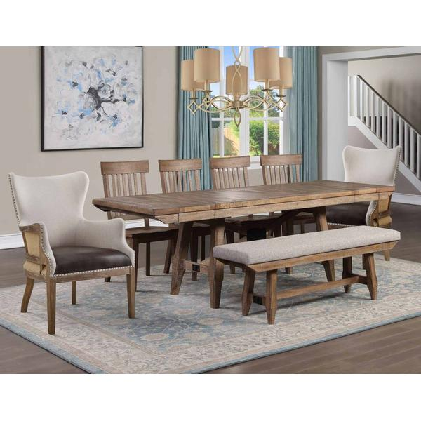See Details - Riverdale 7-Piece Dining Set (Dining Table , 4 Side Chairs & 2 Captains Chairs)