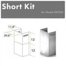 See Details - ZLINE 2-12 in. Short Chimney Pieces for 7 ft. to 8 ft. Ceilings (SK-KECOM)