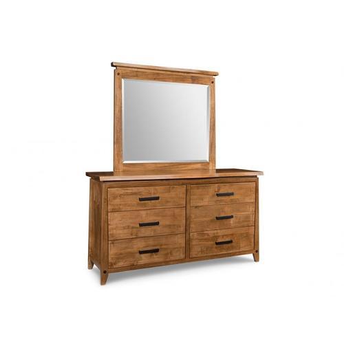 Handstone - Pemberton 6 Drawer Long Dresser