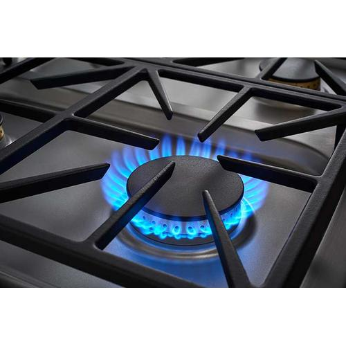 "30"" Dual Gas Cooktop, Liquid Propane/High Altitude"