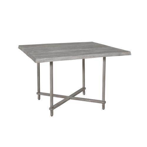 """Castelle - 44"""" Antler Hill Square Dining Table"""