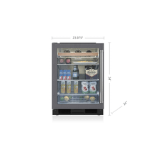 "Legacy Model - 24"" Undercounter Beverage Center - Panel Ready"