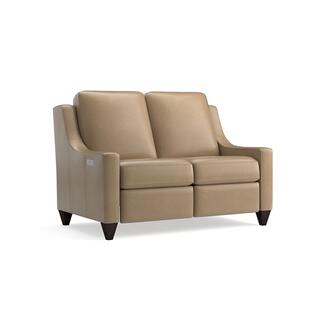 Magnificent Motion Reclining Leather Loveseat