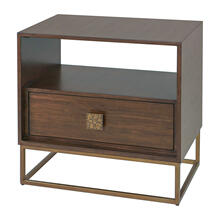 New Bingley Side Table, WALNUT, TABLE