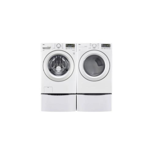 LG - 7.4 cu. ft. Ultra Large Capacity Dryer w/ NFC Tag On Technology