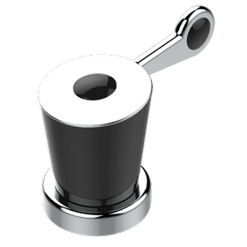 """1/2"""" DECK VALVE WITH TRIM FOR LAVATORY- COLD"""