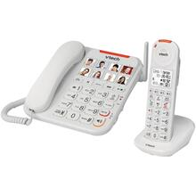 Amplified Corded/Cordless Answering System with Big Buttons & Display