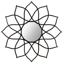 See Details - Flower Power Mirror - Coffee Bronze