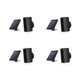 4-Pack Stick Up Cam Solar - Black