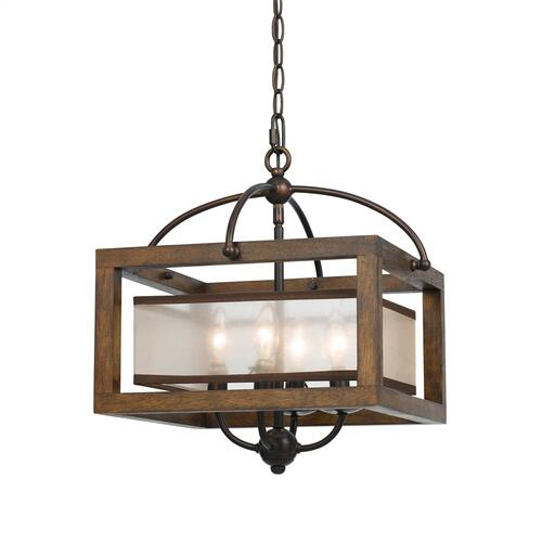 60W X 4 Semi-Flush Pendant
