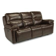 Fenwick Power Reclining Sofa with Power Headrests - 204-70 Leather Vinyl