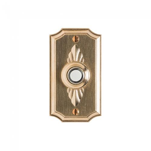 Bordeaux Doorbell Button White Bronze Light