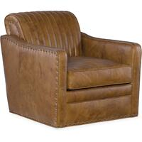 Bradington Young Beth Swivel Tub Chair 8-Way Tie 303-25SW Product Image